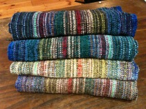 weaving scarves shawls scarf handwoven goods Firecrow Kathy Litchfield