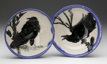 Jaye Pope crow plates Dec 2014