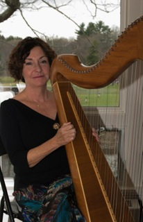 Paula Moore harp SRA anniversary celebration May 7 2016 copy